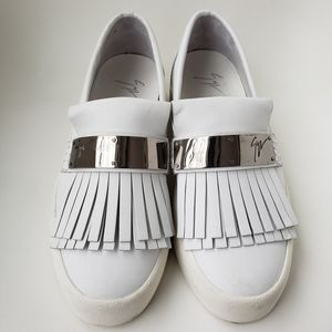 $995 Giuseppe Zanotti men's leather shoes 42.5 9.5